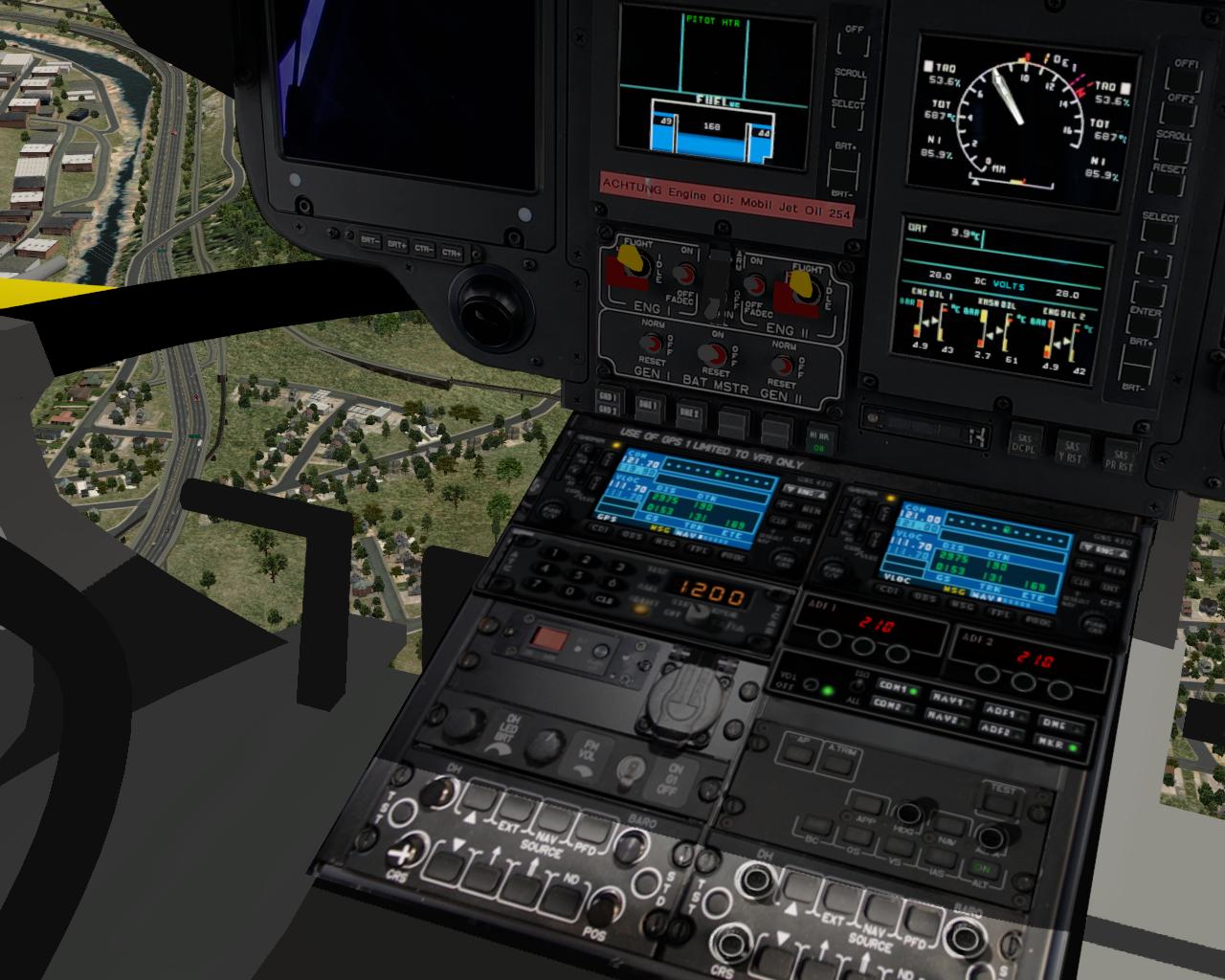 GPS-Geräte der EC 135 V4